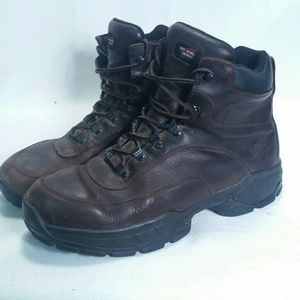 Red Wing Boots 8681 Brown Leather Sz 12 D EH